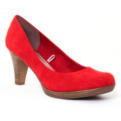escarpins rouge: même style de chaussures en ligne pour femmes que les Tamaris