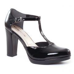 escarpins-salome noir: même style de chaussures en ligne pour femmes que les Tamaris