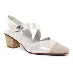 escarpins-trotteur gris doré: même style de chaussures en ligne pour femmes que les Marco Tozzi
