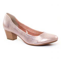 escarpins-trotteur rose argent: même style de chaussures en ligne pour femmes que les Rieker