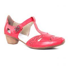escarpins-trotteur rouge: même style de chaussures en ligne pour femmes que les Tamaris