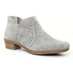 low-boots gris: même style de chaussures en ligne pour femmes que les Tamaris
