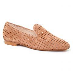 mocassins-slippers beige: même style de chaussures en ligne pour femmes que les Maria Jaén
