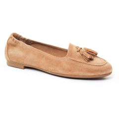 mocassins beige: même style de chaussures en ligne pour femmes que les Mamzelle