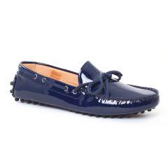 Chaussures femme été 2017 - mocassins Christian Pellet bleu marine