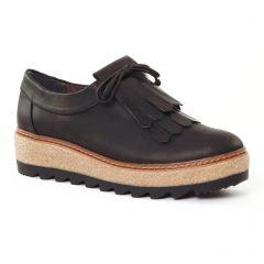 Chaussures femme été 2017 - mocassins confort tamaris noir