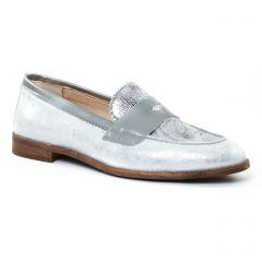 mocassins gris argent: même style de chaussures en ligne pour femmes que les Dorking