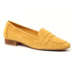 mocassins jaune doré: même style de chaussures en ligne pour femmes que les Scarlatine