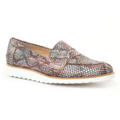 Pintodiblu 10572 Beige : chaussures dans la même tendance femme (mocassins multicolore) et disponibles à la vente en ligne