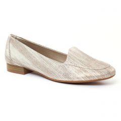 Chaussures femme été 2017 - Mocassins Slippers Maria Jaén or doré