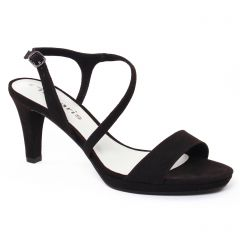 Chaussures femme été 2017 - nu-pieds talons hauts tamaris noir