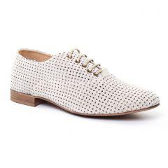 Chaussures femme été 2017 - richelieus Axell beige