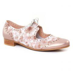 derbys rose argent: même style de chaussures en ligne pour femmes que les Scarlatine