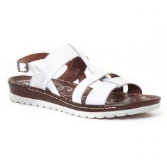 Chaussures femme été 2017 - sandales Dorking blanc