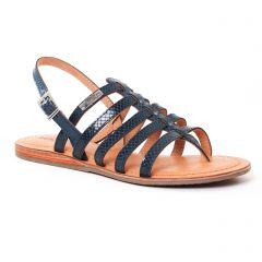 Chaussures femme été 2017 - sandales les tropéziennes bleu marine