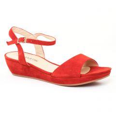 sandales-compensees orange: même style de chaussures en ligne pour femmes que les Les Tropéziennes