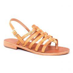 sandales jaune: même style de chaussures en ligne pour femmes que les Les Tropéziennes