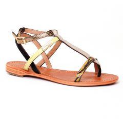 sandales jaune multi: même style de chaussures en ligne pour femmes que les Les Tropéziennes