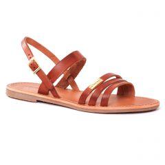 sandales marron: même style de chaussures en ligne pour femmes que les Scarlatine