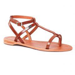 Les Tropéziennes Hilan Tan : chaussures dans la même tendance femme (sandales marron) et disponibles à la vente en ligne