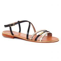sandales noir doré: même style de chaussures en ligne pour femmes que les Fugitive
