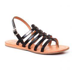 Les Tropéziennes Heripo Noir : chaussures dans la même tendance femme (sandales noir) et disponibles à la vente en ligne