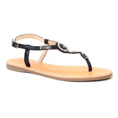sandales noir: même style de chaussures en ligne pour femmes que les Jb Martin