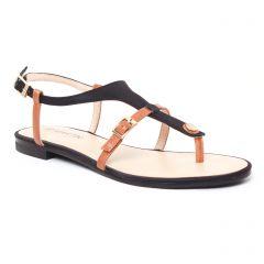 Chaussures femme été 2017 - sandales JB Martin noir marron