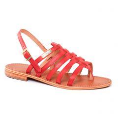 Chaussures femme été 2017 - sandales les tropéziennes rouge