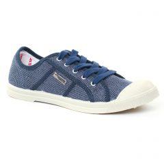 tennis bleu marine: même style de chaussures en ligne pour femmes que les Les Tropéziennes