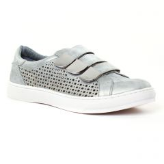tennis gris argent: même style de chaussures en ligne pour femmes que les Victoria