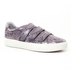 tennis gris argent marron: même style de chaussures en ligne pour femmes que les Kanna