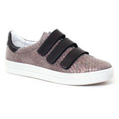 tennis gris doré noir: même style de chaussures en ligne pour femmes que les Scarlatine