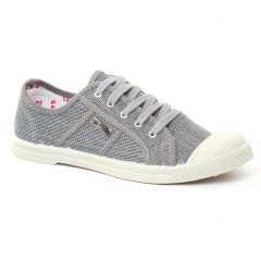 tennis gris doré: même style de chaussures en ligne pour femmes que les Les Tropéziennes