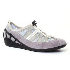 tennis gris taupe: même style de chaussures en ligne pour femmes que les Rieker