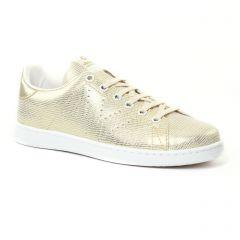 Chaussures femme été 2017 - tennis Victoria or doré