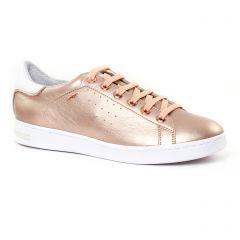 Chaussures femme été 2017 - tennis Geox rose