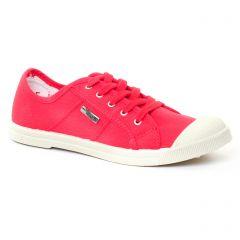 Chaussures femme été 2017 - tennis les tropéziennes rose rouge