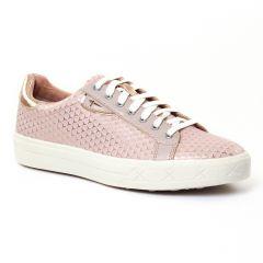 Chaussures femme été 2017 - tennis tamaris rose