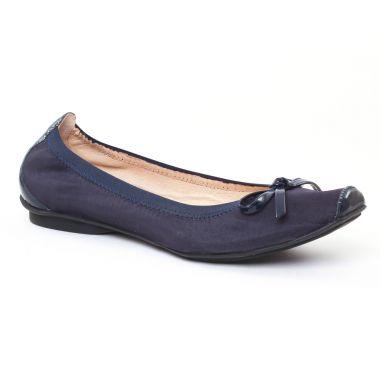 Ballerines Jb Martin Yeti Marine, vue principale de la chaussure femme