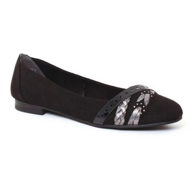 Ballerines Marco Tozzi 22100 Black, vue principale de la chaussure femme