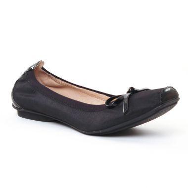 Ballerines Jb Martin Yeti Noir Vernis Noir, vue principale de la chaussure femme