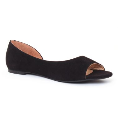 Ballerines Scarlatine 44368 Noir, vue principale de la chaussure femme