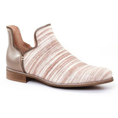 Bottines Et Boots Costa Costa PintoDiBlu 77553 Beige, vue principale de la chaussure femme