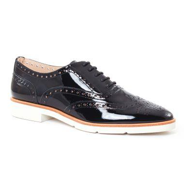 Chaussures À Lacets Jb Martin 1Flaba Vernis Noir, vue principale de la chaussure femme