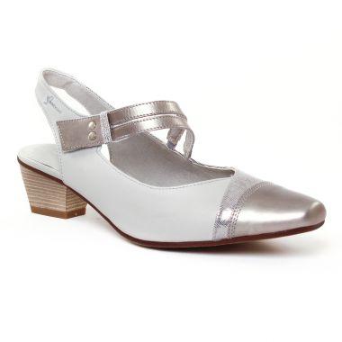 Escarpins Dorking Concha 7004 Cristal, vue principale de la chaussure femme