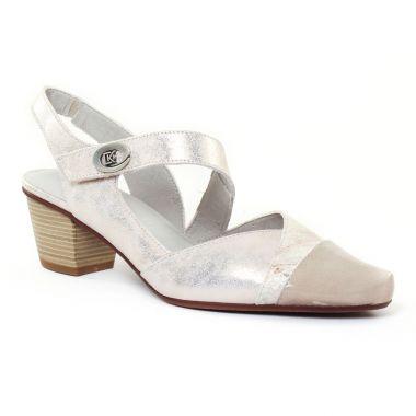 Escarpins Dorking Triana 7056 Platine, vue principale de la chaussure femme