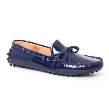 Mocassins Christian Pellet Thelma Marine, vue principale de la chaussure femme