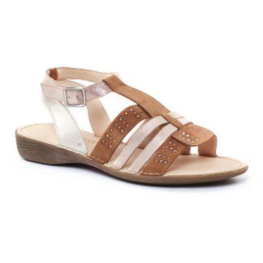 Nu Pieds Et Sandales Dorking Biscoto, vue principale de la chaussure femme