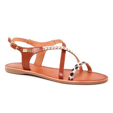 Nu Pieds Et Sandales Les Tropeziennes Horse Tan Leopard, vue principale de la chaussure femme